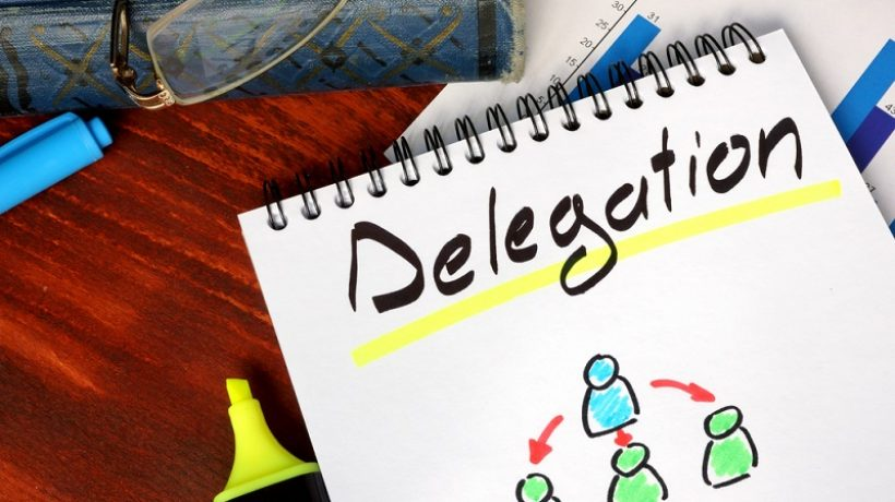 How to delegate work to employees?
